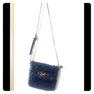 Tommy Hilfiger cross-body purse in patent leather